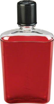Nalgene Flask: 12oz, Red with Black Cap