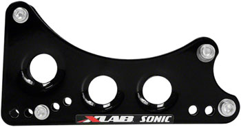 XLAB Sonic Wing Water Bottle Cage Mount: Black