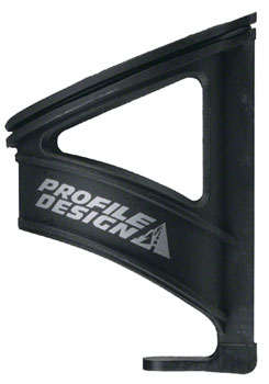 Profile Design Nylon Kage Water Bottle Cage with Retention Band: Black