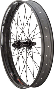 Industry Nine Big Rig 85 26 Disc Fat Bike Carbon Rear Wheel: 12mm x 177mm, SRAM XD Driver, Black