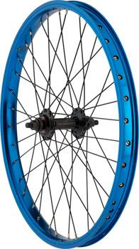 R12 Wizard Front Wheel 20 3/8 Axle 36h Blue