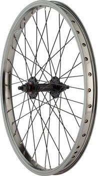 R12 Wizard Front Wheel 20 3/8 Axle 36h Gray