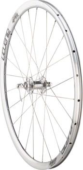 Quality Wheels Road Disc Front Wheel Velocity Aileron Velocity Centerlock Disc 24h 100mm QR / 15mm Silver