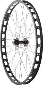 Surly Rabbit Hole Rear Wheel: 29+ QR x 135mm 17.5mm Offset Single-Speed, Black
