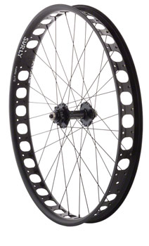 Surly Fat Bike Rear Wheel 26 Surly Ultra New Singlespeed Disc / Marge Lite 17.5mm Offset
