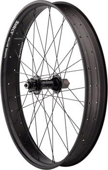 Quality Wheels Fat Bike Rear Wheel 26 32h Salsa Mukluk 170mm / unHoley Darryl / DT Competition All Black