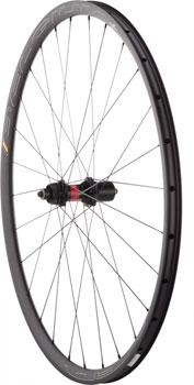 Quality Wheels Road Disc Rear Wheel 700c 28h HED Belgium Plus 25 / DT 240 Centerlock / DT AeroLite All Black