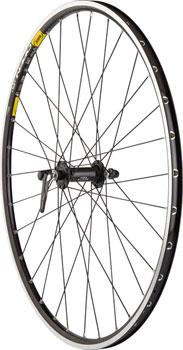 Quality Wheels Road Front Wheel 650c 32h Shimano 105 5800 / Mavic Open Pro / DT Champion All Black