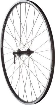 Quality Wheels Road Rim Brake Front Wheel 100mm 700c Shimano Deore M610 Black / Alex ACE19 Black / DT Factory Black
