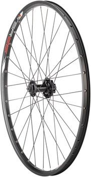 Quality Wheels Mountain Disc Front Wheel Value Series Disc 26 SRAM 406 6-bolt / Sun SR25 Black