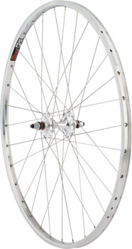 Quality Wheels Rear Wheel Track 27 32h Sun CR-18 Polished / Formula Track Fixed / Free Silver / DT Factory Silver