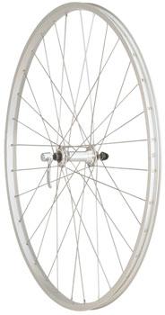 Quality Wheels Value Series Silver Pavement Front Wheel 700c Formula / Alex Y2000 Silver