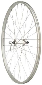 Quality Wheels Value Series Silver Mountain Front Wheel 26 Formula / Alex Y2000 Silver