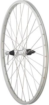 Quality Wheels Value Series Silver Mountain Rear Wheel 26 Formula 135mm Freehub / Alex Y2000 Silver