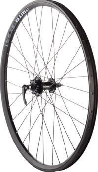 Quality Wheels Mountain Disc Front Wheel 26 100mm QR SRAM 406 6-bolt / WTB FX23 Blackë_32h
