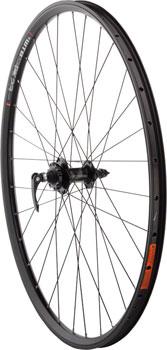 Quality Wheels Mountain Disc Front Wheel 29 100mm QR SRAM 406 6-bolt / WTB FX23 Blackë_32h