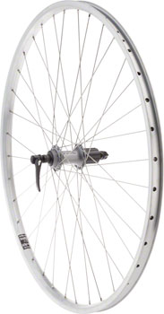 Quality Wheels Value XL Rear Wheel 700c Shimano 130mm Hub / Velocity NoBS Rim, Raw, 36h