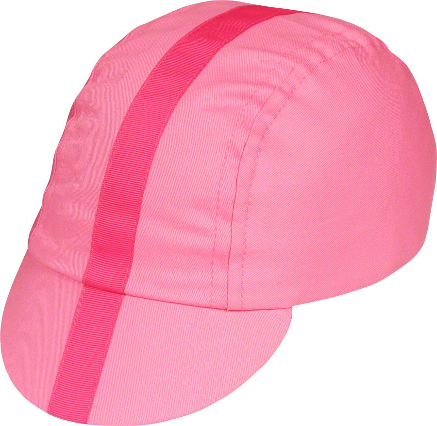 8bd86fe7f62d3 Pace Sportswear Classic Cycling Cap  Pink with Pink Tape