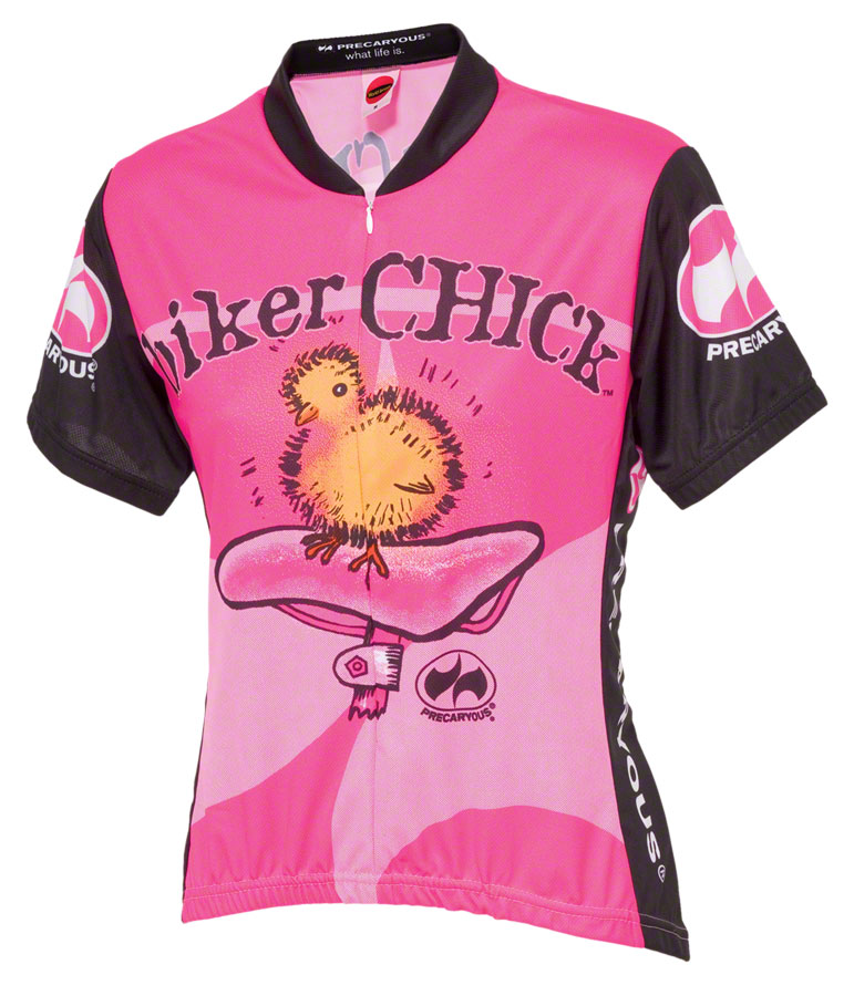 0d7121357 World Jerseys Women s Biker Chick Cycling Jersey  Pink