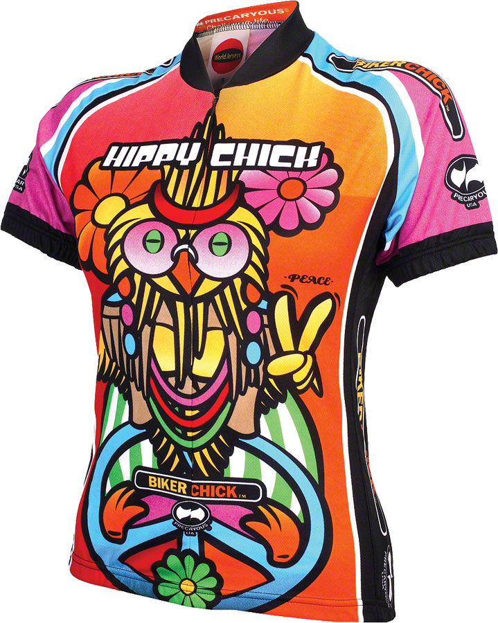 49d4a4960 World Jerseys Women s Hippy Chick Cycling Jersey  SM